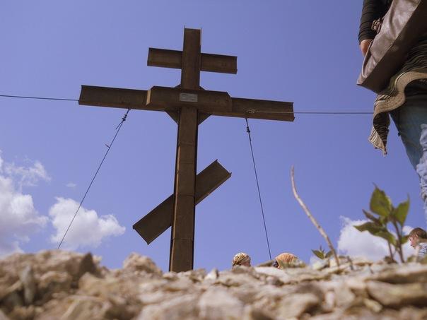 Поклонный крест. г. Карабаш