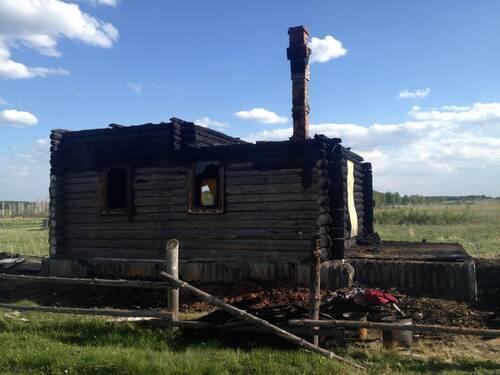 Сгорела Часовня