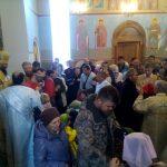 Владыка в храме на Динамо