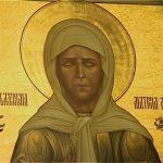 Святая Матрона моли Бога о нас