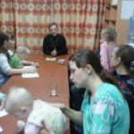 О семье и о Христе в приюте для мам