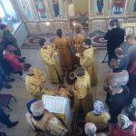 Владыка Никодим возглавил богослужение в Царево-Александровске, ныне Ленинск