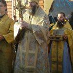 Архиерейская служба в поселке Ленинск
