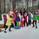 Юные прихожане миасского храма совершили зимний поход.